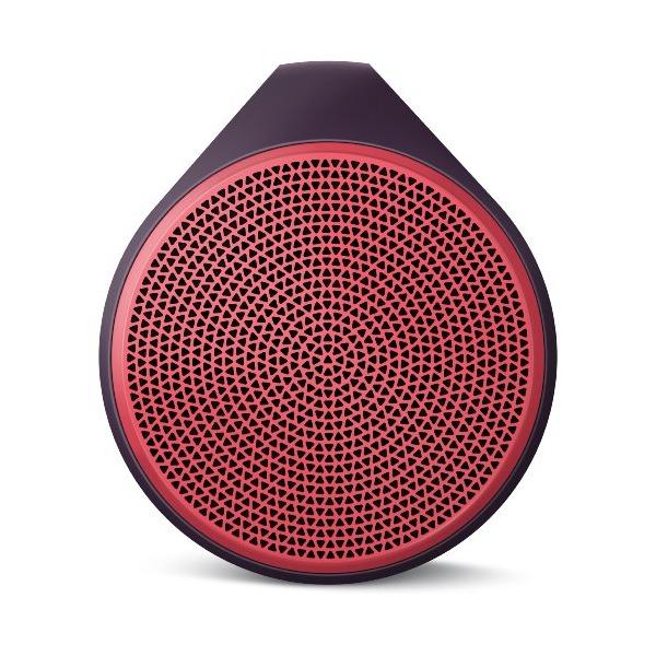 Logitech X100 Mobile Wireless Speaker (Red)