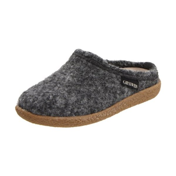 Giesswein Women's Veitsch Slipper,Schiefer,36 EU/5 M US