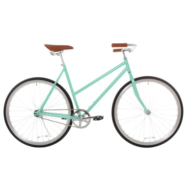 Vilano Women's Classic Urban Commuter Single Speed Bike Fixie Style