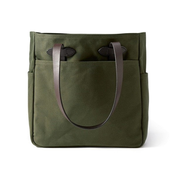Filson Tote Bag Without Zipper, Otter Green