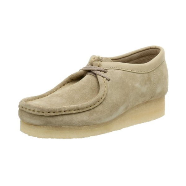 Clarks Originals Men's Wallabee Oxford, Sand Suede, 9 M