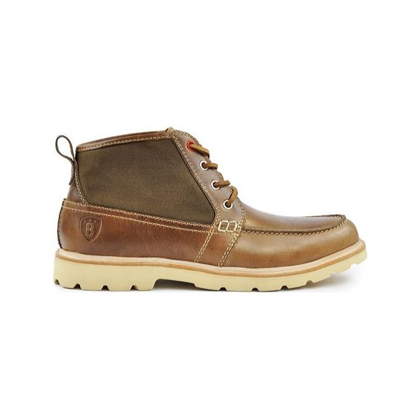 Boston Boot Co. Men's Cambridge,Natural Canvas,US 11 M