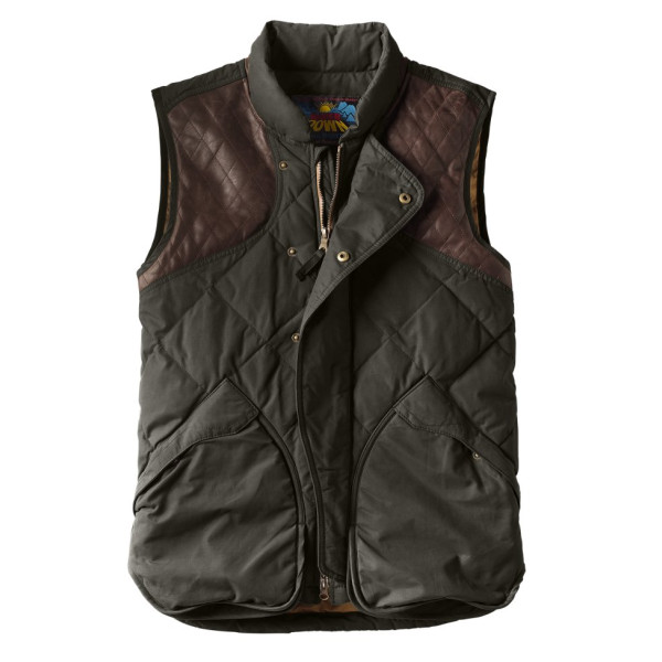 Eddie Bauer Mens 1936 Skyliner Model Hunting Down Vest