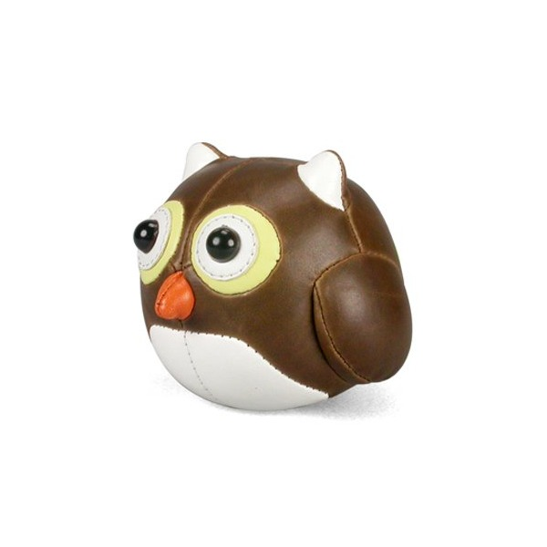 Zuny Cicci Series Owl Brown Animal Paperweight