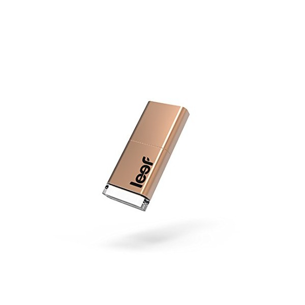 Leef Magnet USB 3.0 64GB USB Flash Drive with LED, Magnet Cap and PrimeGrade Memory (Copper Edition)