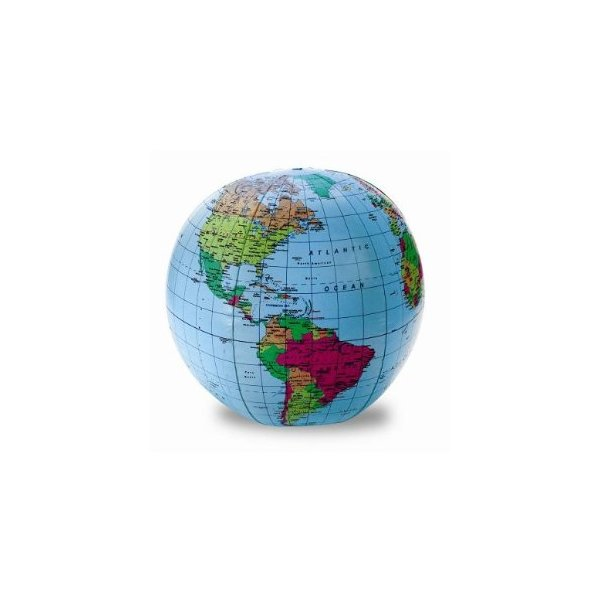 Learning Resources 12-Inch Inflatable Globe