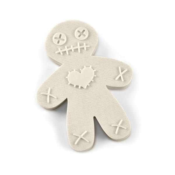 Fred and Friends CURSED COOKIES Voodoo Doll Cookie Cutter/Stamper