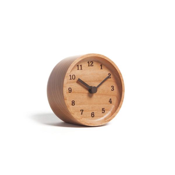 Lemnos MUKU desk clock Alder