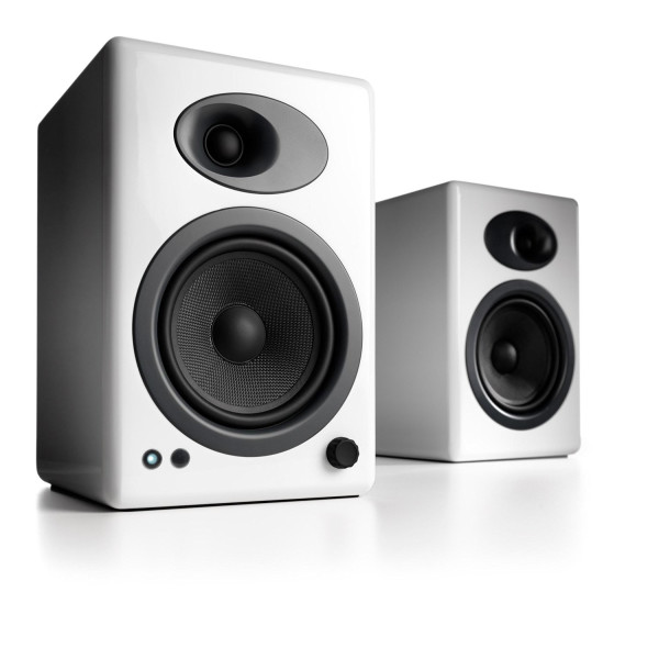 Audioengine A5+ Premium Powered Speaker Pair, White