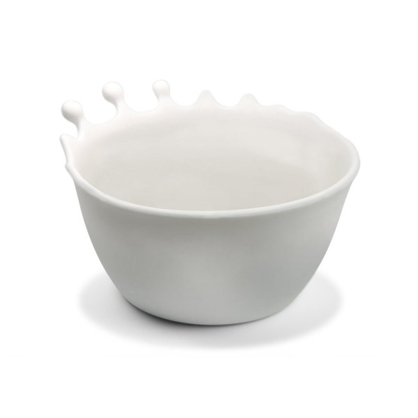 Fred and Friends Spilt Milk Breakfast Bowl