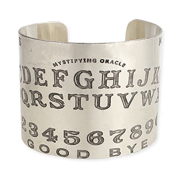 Ouija Board Sprit Cuff Bracelet - One Size Fits Most - 100% Non-allergenic