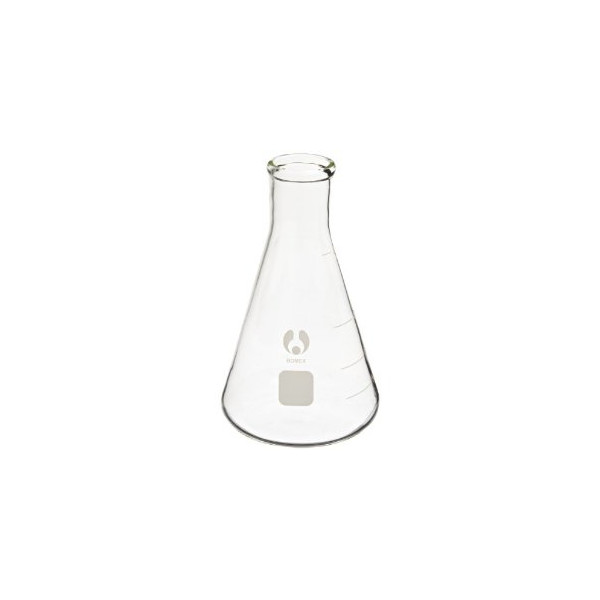 Erlenmeyer Flasks Glass Graduated 500ml