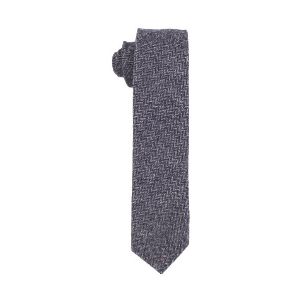 Fred Perry Men's Herringbone Tie, Navy, One Size