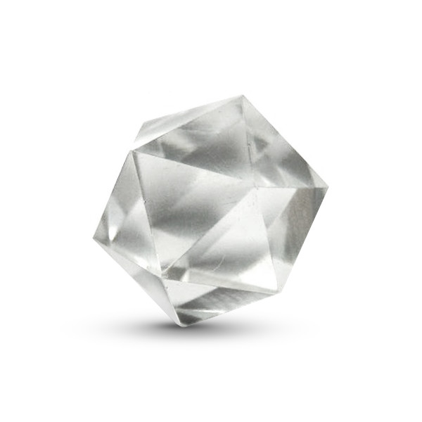 Quartz Icosahedron, 1.5-2 inches