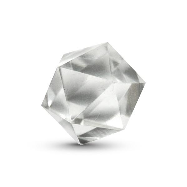 Quartz Icosahedron, 1.5-2 inches