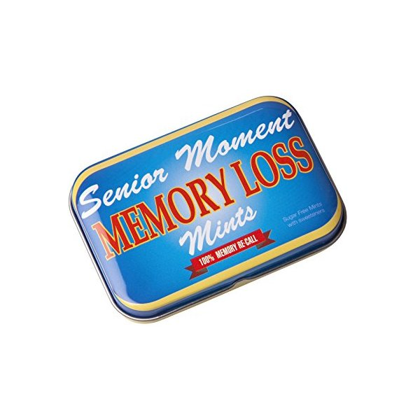 Novelty Joke Memory Loss Mints