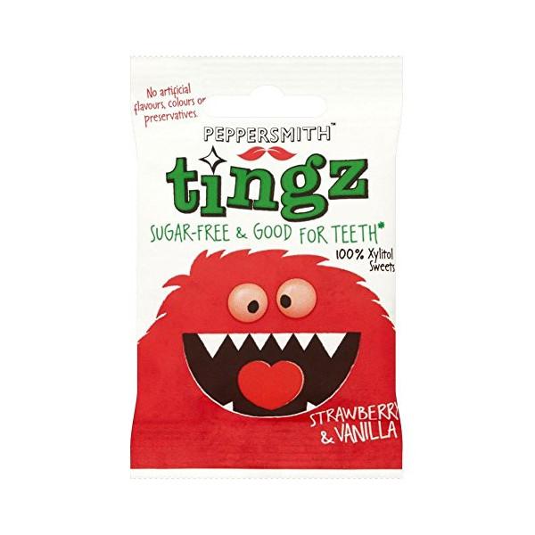Peppersmith tingz Strawberry & Vanilla (15g)