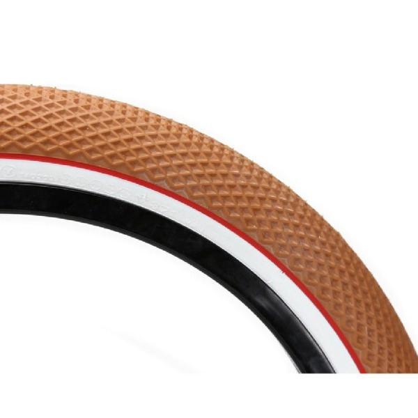 Cult Vans BMX Tire 20x2.35 Gum/White Wall