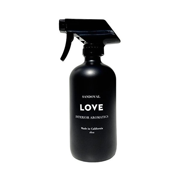 Sandoval - All Natural Interior Aromatic Sprays (LOVE, 16 fl oz)