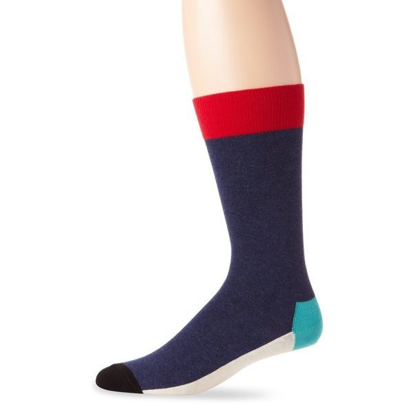 Happy Socks Men's Five Color 2, Bright Combo