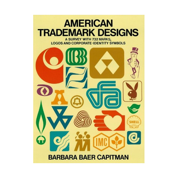 American Trademark Designs (Dover Pictorial Archives) [Paperback]