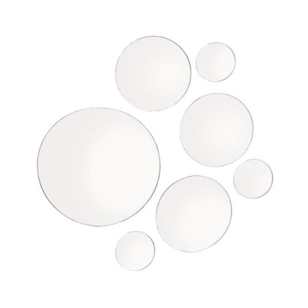 Elements Round Mirror, Set of 7