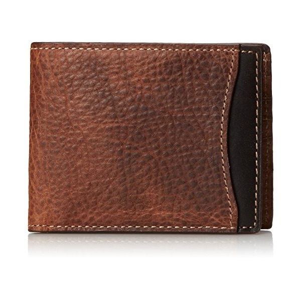 Fossil Men's Reynolds Bifold, Dark Brown, One Size