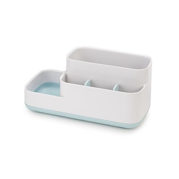 Joseph Joseph 70504 EasyStore Bathroom Storage Organizer Caddy Countertop, Blue
