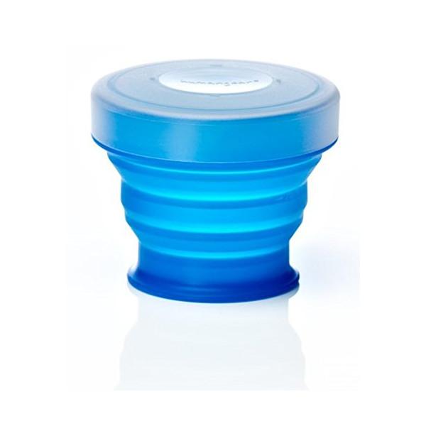 Humangear GoCup, Small (4 fl.oz/118ml), Blue