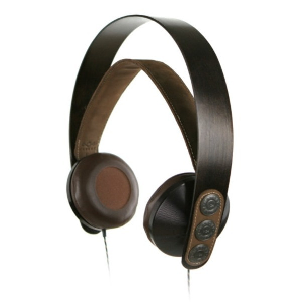 House of Marley EM-FH003-HA Exodus - Freedom On-Ear Headphone with 3-Button Apple Mic - Harvest