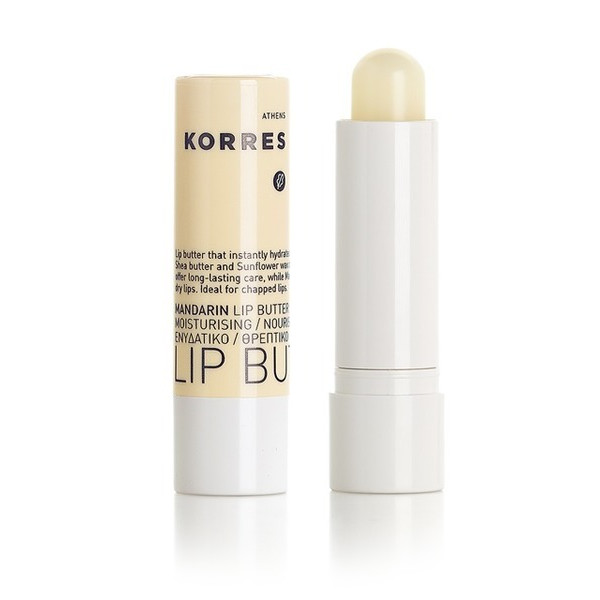 Korres Mandarin Lip Butter Stick No SPF Colourless