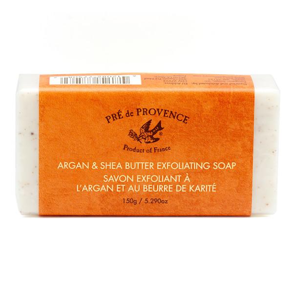 Pre de Provence Argan and Shea Butter Soap, Exfoliating