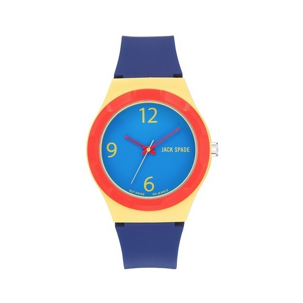 Jack Spade 'Graphic' Colorblock Watch, 38mm