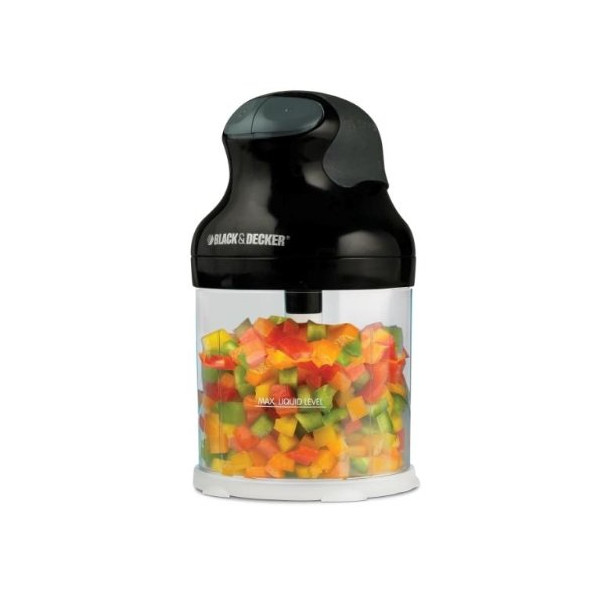 Black & Decker EHC650B Ergo 3-Cup Food Chopper