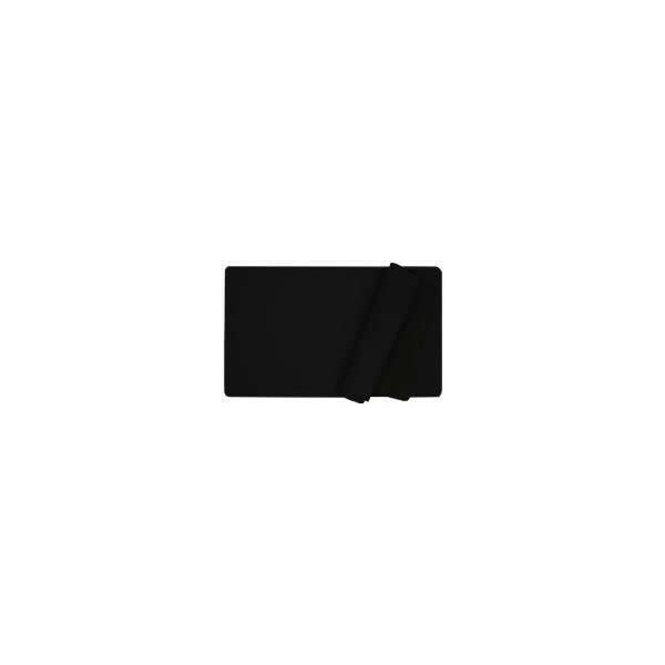 Plain Black Playmats