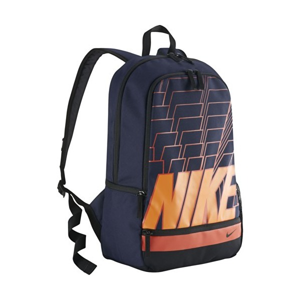 Nike Classic North Carry All Backpack-Obsidian/Black/Black