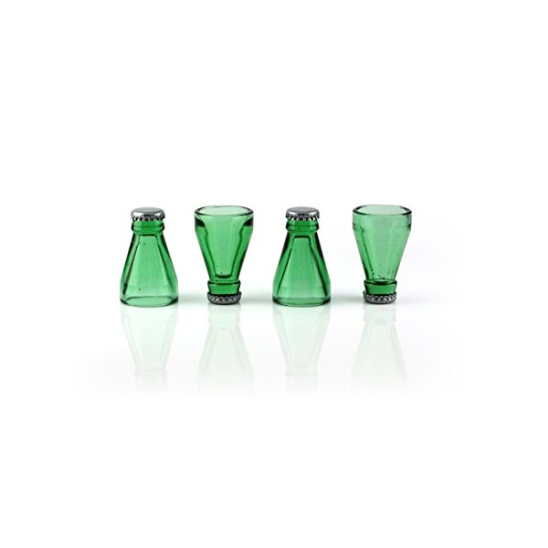 Barbuzzo Top Shots (Set of 4), Green
