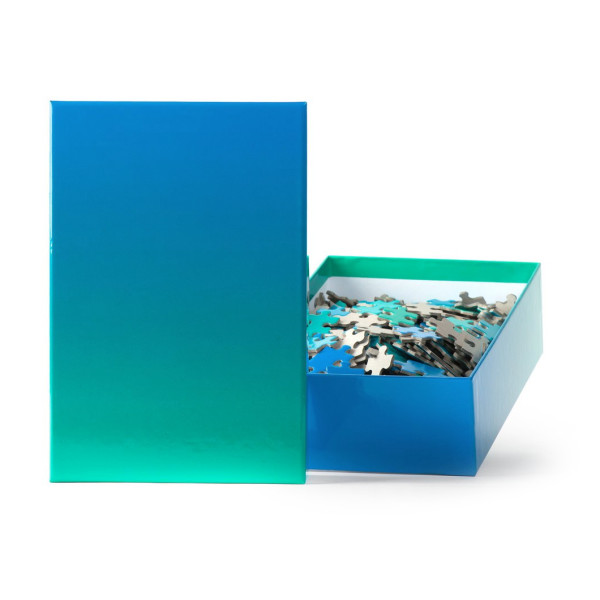 Areaware Gradient Puzzle, Blue/Green
