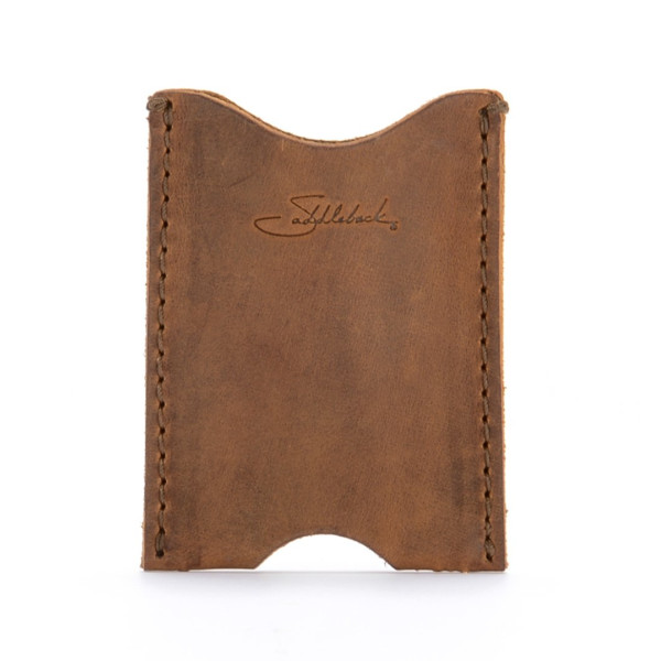 Saddleback Leather Wallet Sleeve, Tobacco