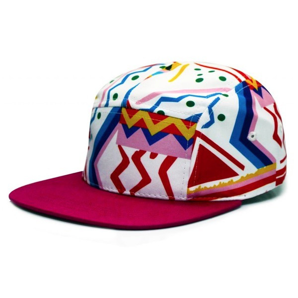 City Hunter Fresh Prince 5 Panel Bike Hat