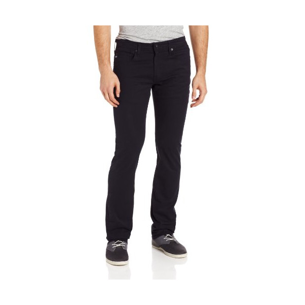 AG Adriano Goldschmied Men's Matchbox Slim Straight Leg Twill Pant, Midnight, 31