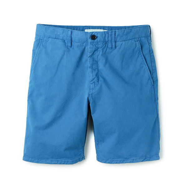 Norse Projects Men's Aros Light Twill Shorts, California Blue