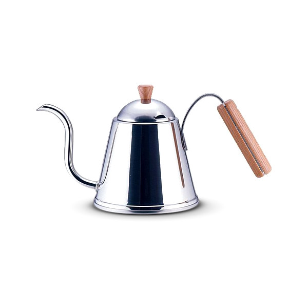 Yoshikawa Wood Handle Coffee Pour Over Kettle