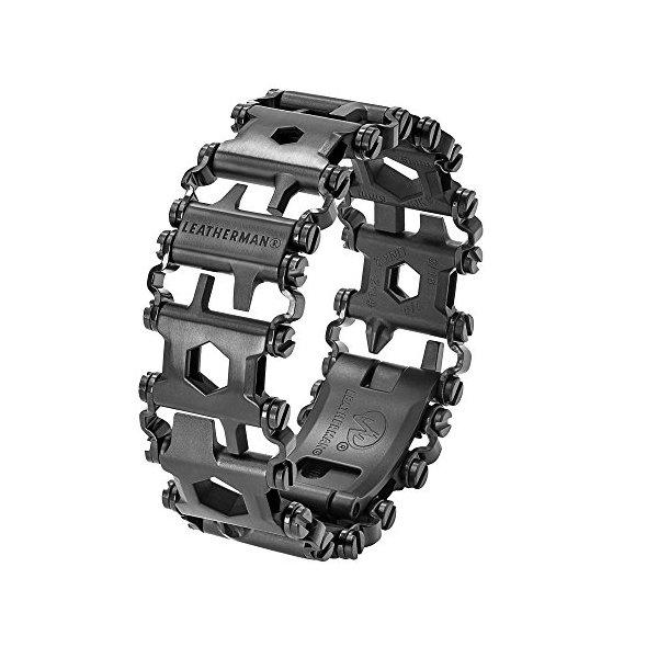 LEATHERMAN - Tread Bracelet, The Original Travel Friendly Wearable Multitool, Black (FFP)