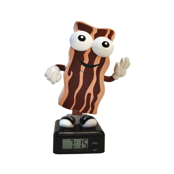 Big Mouth Toys The Wakin Shakin Bacon Alarm Clock