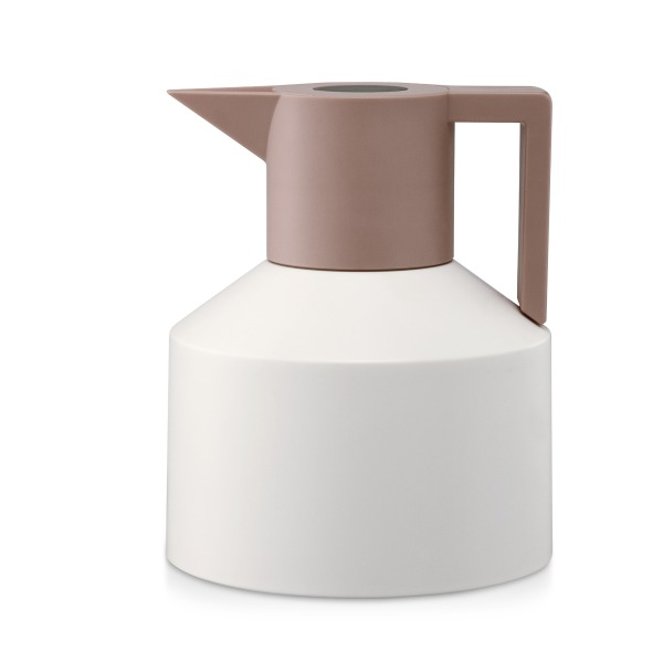 Geo Thermo Pot Normann Thermo Vacuum Flask, White