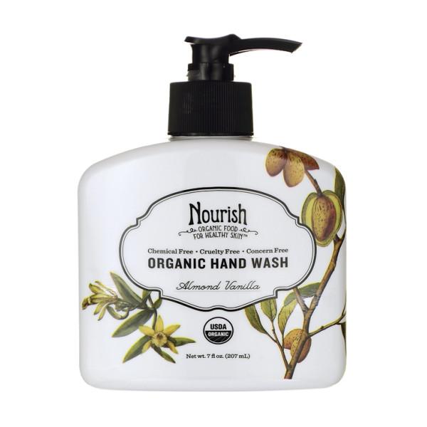 Nourish Organic Hand Wash Almond Vanilla, Almond Vanilla, 7oz