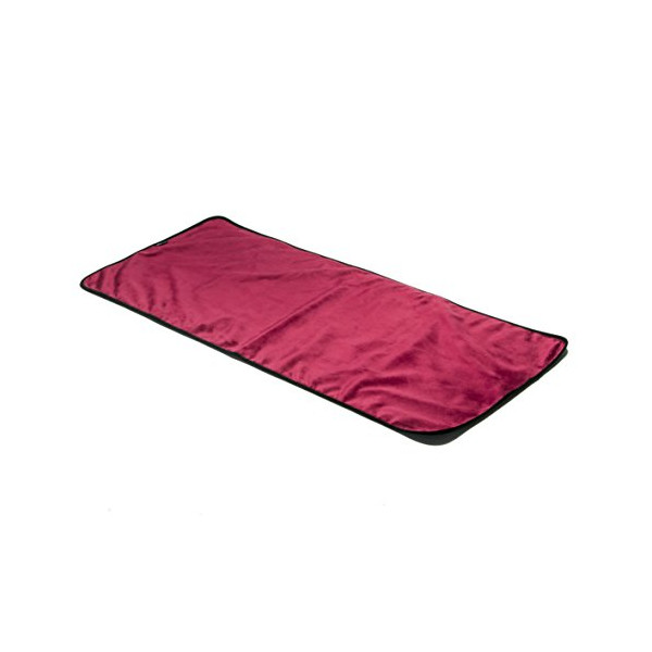 Liberator Throe Moisture Resistant Sex Blanket, Travel-Size, Merlot