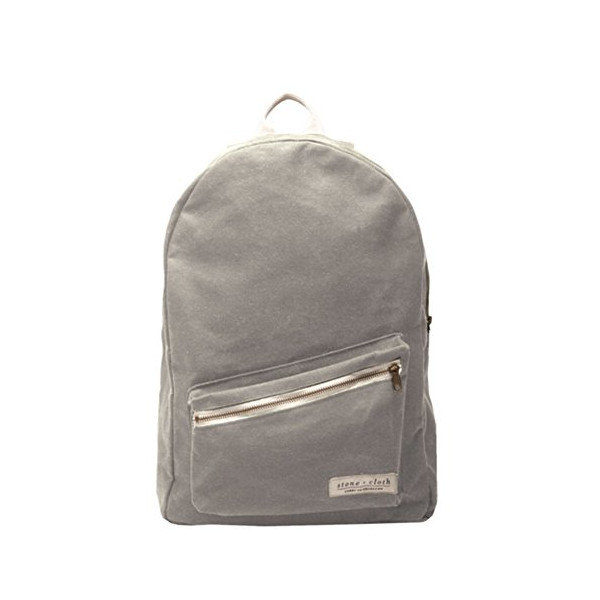 "Stone and Cloth ""The Lucas"" Heavy Cotton Backpack STONE"