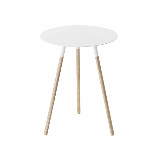 YAMAZAKI home Plain Side Table, White